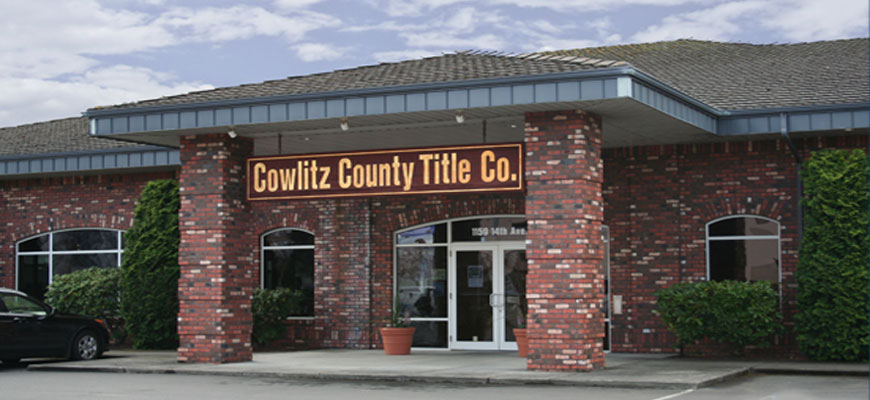 Cowlitz County Title Company — Service is the Difference